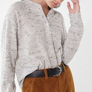 Urban Outfitters - UO Carter Henley Top- Size S